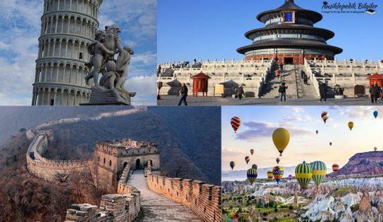 En Çok UNESCO Dünya Mirasına Sahip Ülkeler