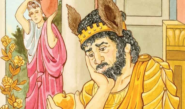 kral midas kimdir eşek kulağı