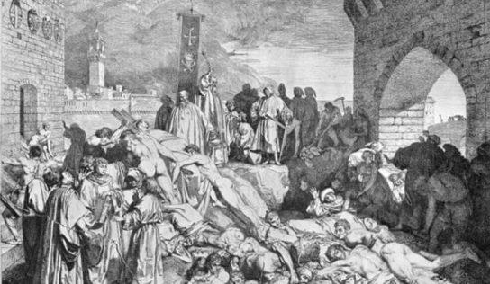 Avrupa'daki   Kara Veba (Kara Ölüm) Salgını