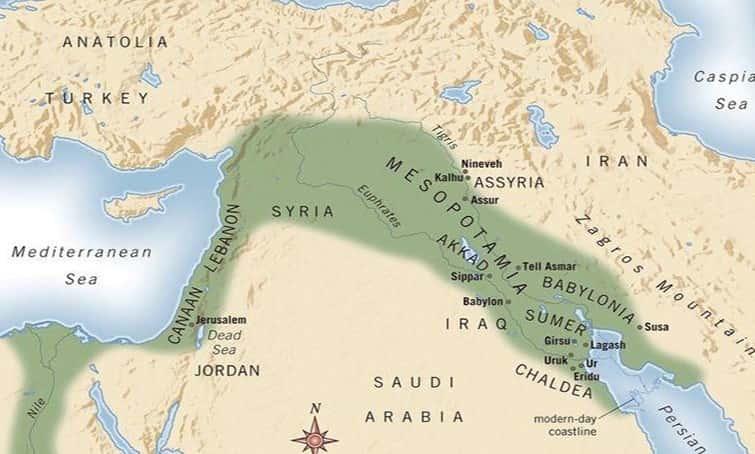 Mezopotamya Neresidir