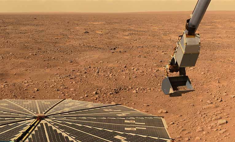 Oksijen'in mars'taki tuhaf davranışı